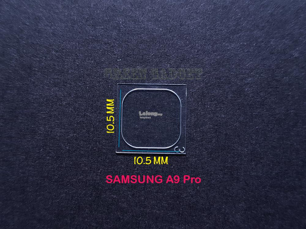 SAMSUNG A9 Pro Tempered Glass Camera Protector