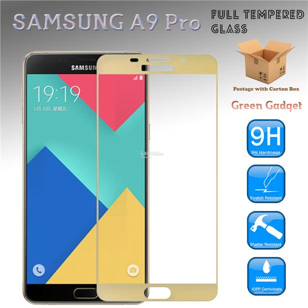 SAMSUNG A9 Pro Tempered Glass Screen Protector Dot Matrix