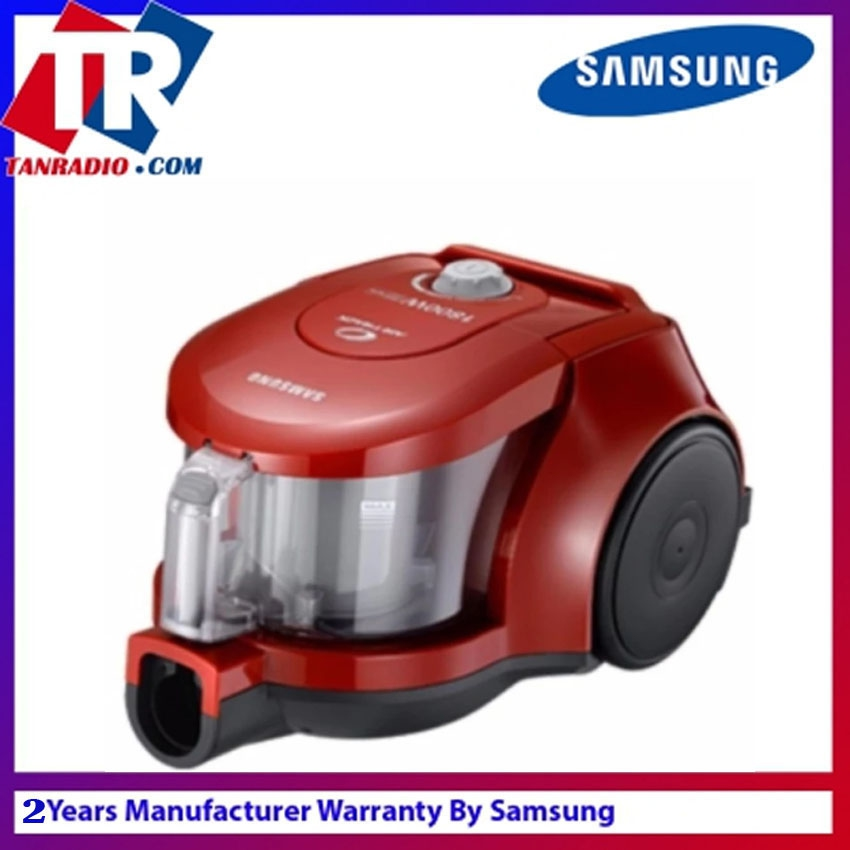 Samsung Bagless Vacuum Cleaner With Twin Chamber System SAM VCC4353V4R XME