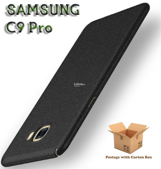SAMSUNG C9 Pro Hard Case Thin Fit(Black)