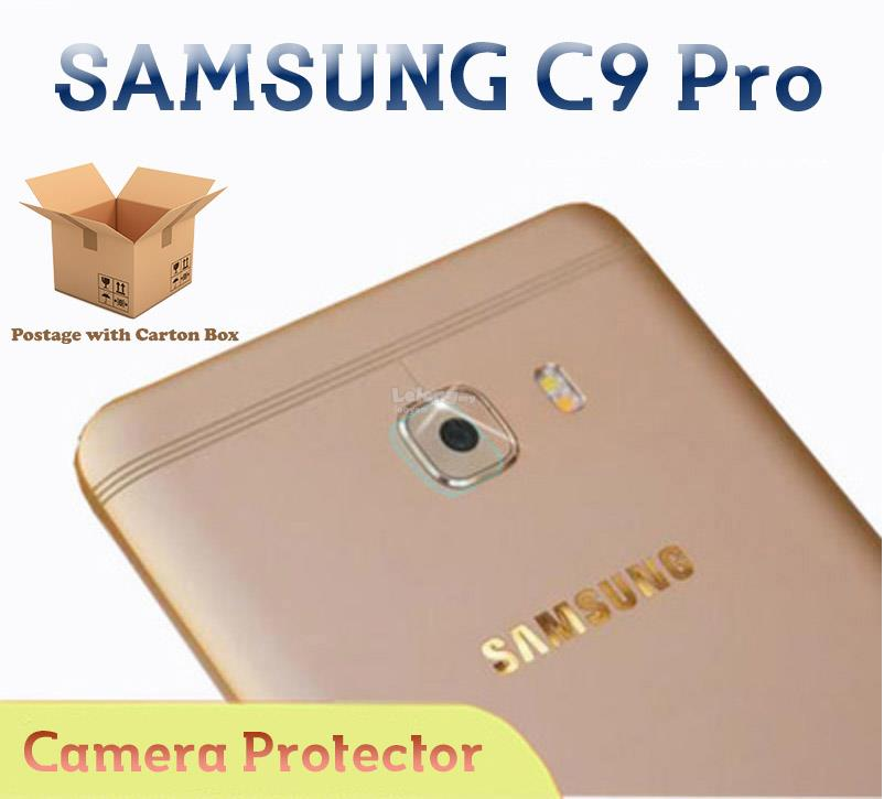 SAMSUNG C9 Pro Tempered Glass Camera Protector