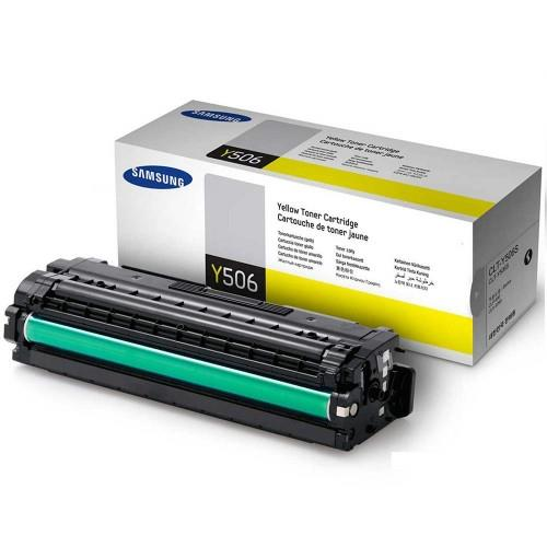 Samsung CLT-506S 1.5k Toner Cartridge Yellow (CLT-Y506S)
