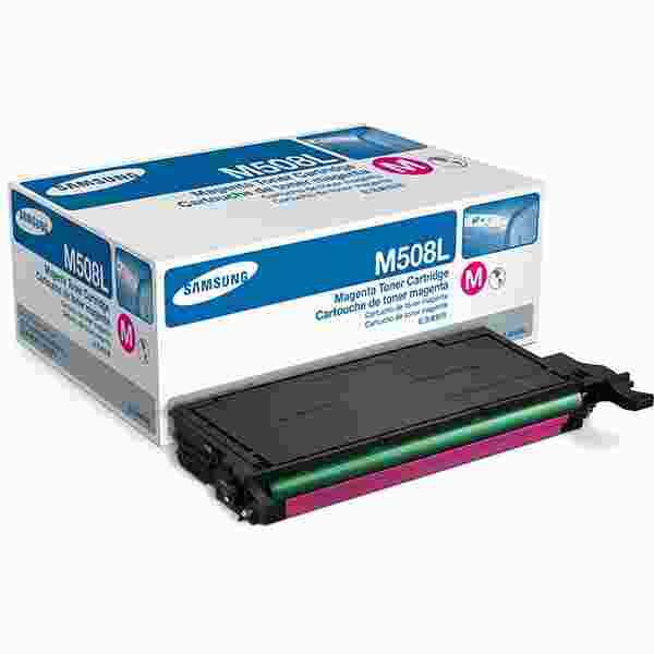 Samsung CLT-508 Magenta Toner Cartridge HIGH - 4k (CLT-M508L)