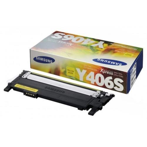 Samsung CLT-Y406S Yellow Toner Cartridge (CLT-Y406S)