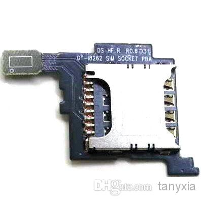 Samsung Core i8260 i8262 Sim Card Reading Pin Holder Flex Cable Ribbon