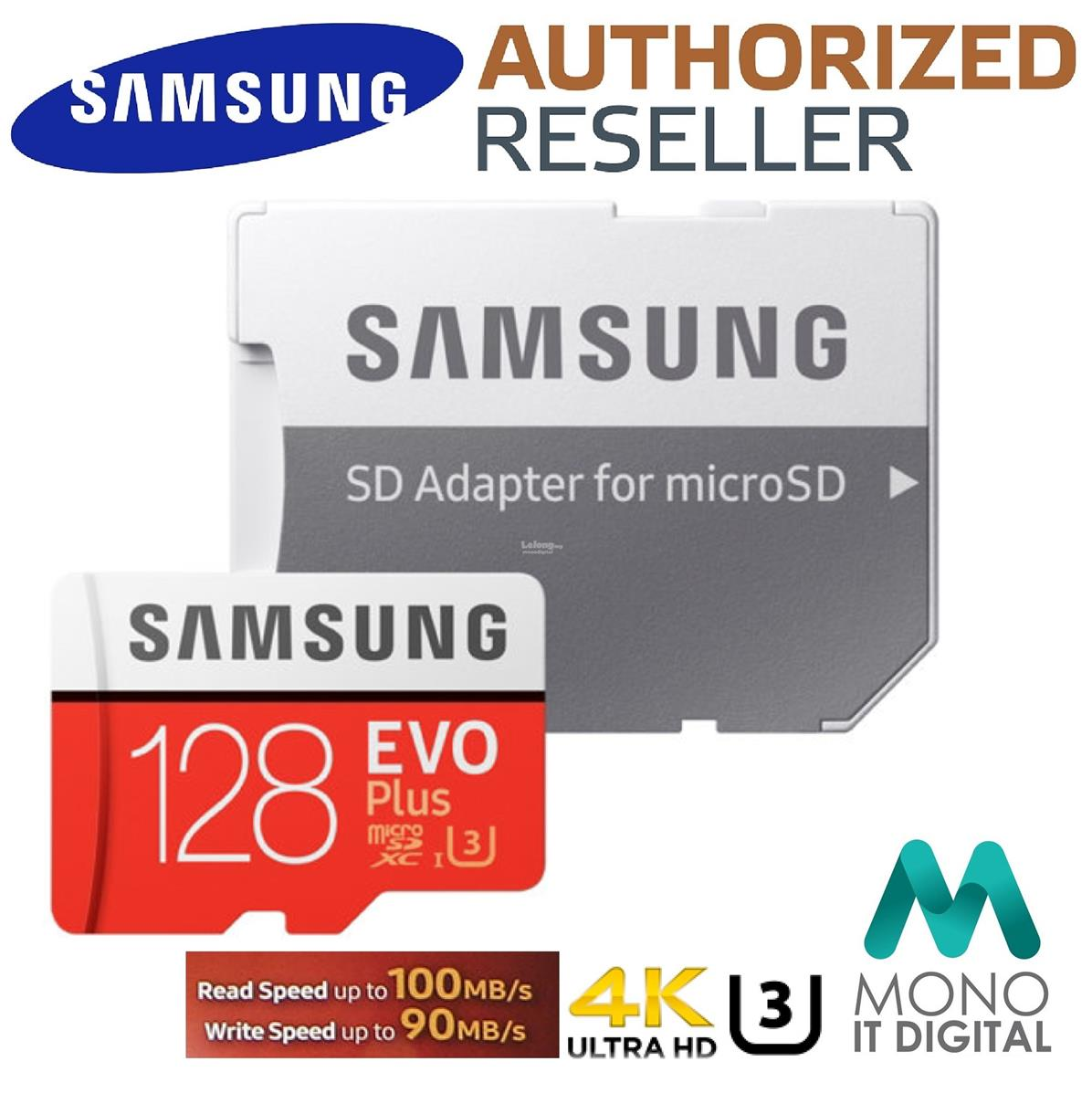 Micro Sd 32gb Price Harga In Malaysia Lelong Samsung 64 Gb Pro With Adapter Evo Plus 100mb S U3 4k Class 10 64gb