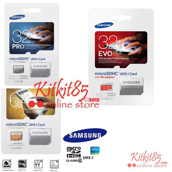 Samsung Evo Pro Plus + Micro SD Class10 Memory Card 8GB 16GB 32GB 64GB. ‹ ›