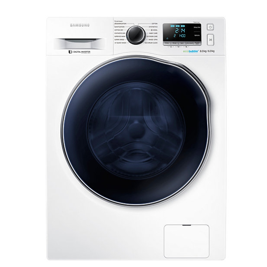 Samsung Front Load Washer Dryer WD80J6410AW 8KG 6KG 1400RPM. ‹ › 5a7d349a82