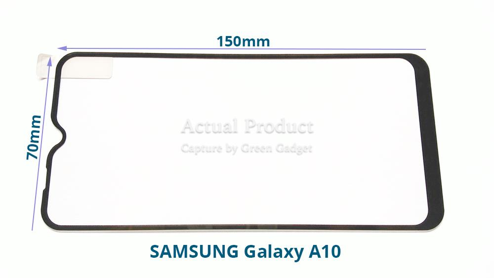 SAMSUNG Galaxy A10 Full Glue Screen Protector Tempered Glass