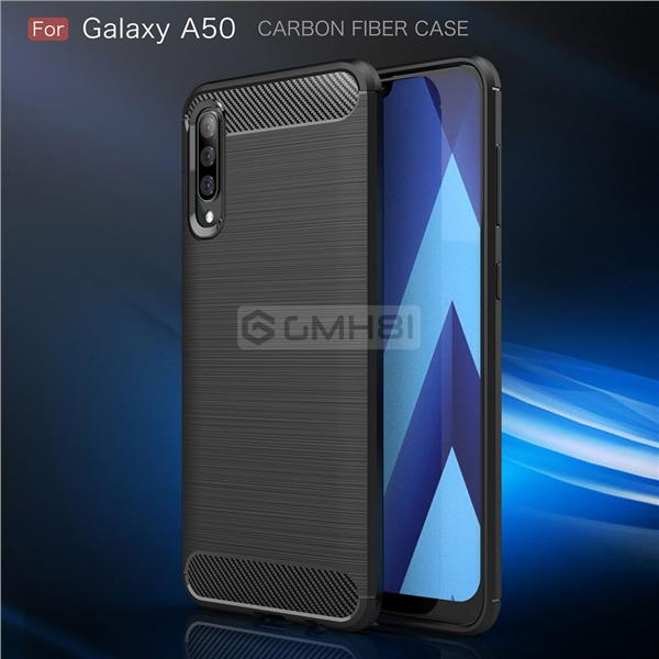 Samsung Galaxy A10s A30s A50s A70s BRUSH Slim Armor Bumper Cover Case