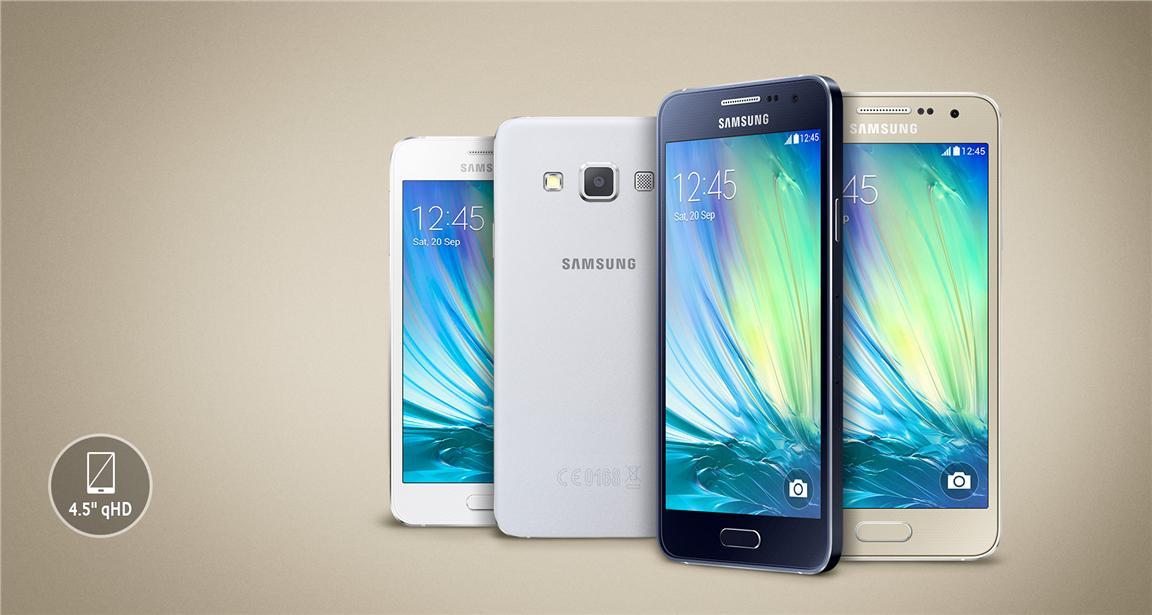 Samsung Galaxy A3 1GB RAM 16GB ROM5MP 8MPSME