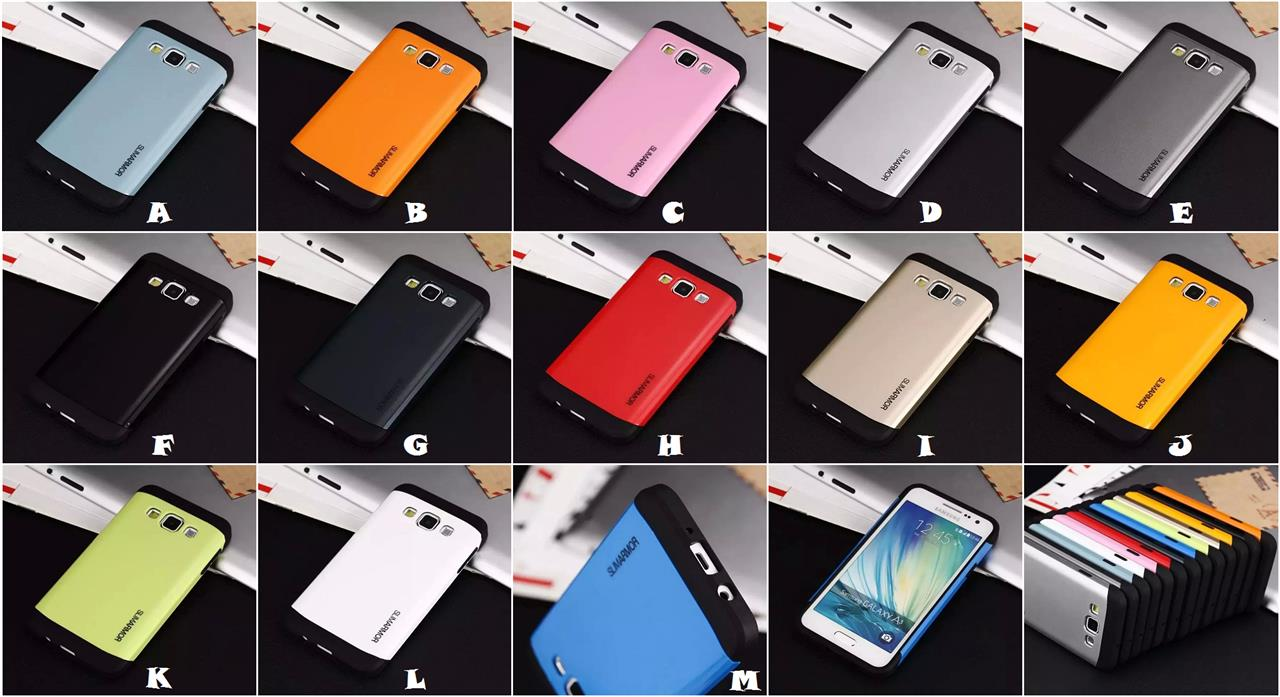 save off 30ae9 cdacd Samsung Galaxy A3 A5 A7 SPIGEN SGP SLIM ARMOR Case Cover *FREE SP*
