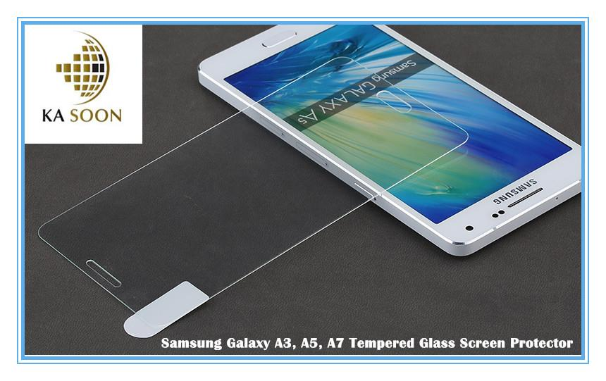 Samsung Galaxy A3 A5 A7 Tempered Glass Screen Protector