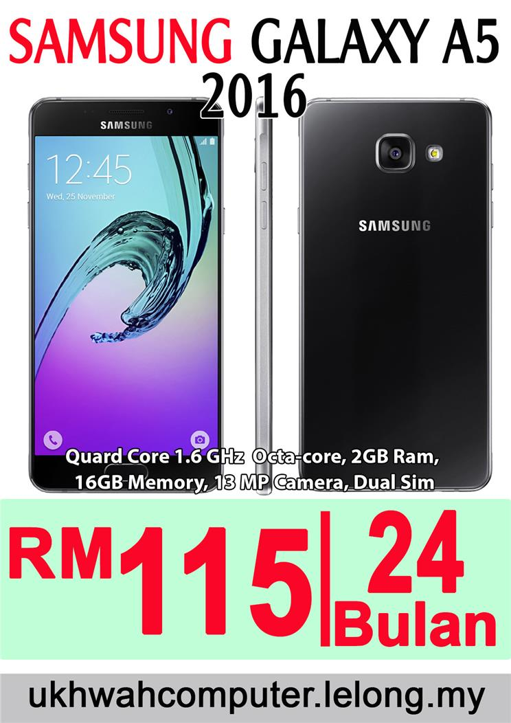 SAMSUNG GALAXY A5 2016 HARGA ANSURA End 2 16 2017 1141 AM