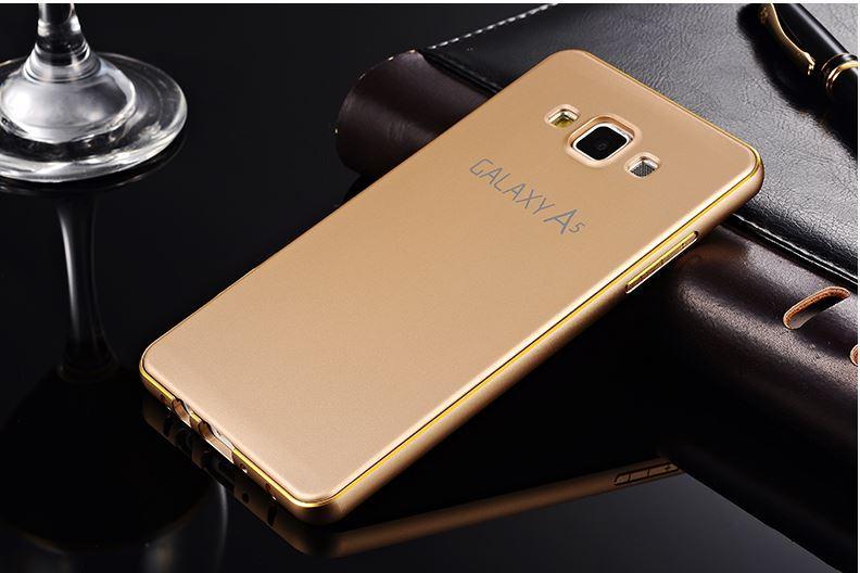 new products 44da3 610a0 Samsung Galaxy A5 A7 Aluminium Bumper Cover Casing Case