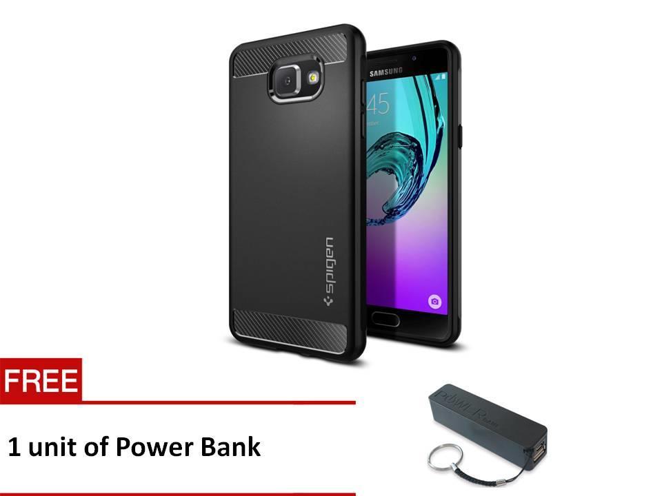 size 40 e0238 95395 Samsung Galaxy A5 Case, Spigen Rugged Armor (Black)