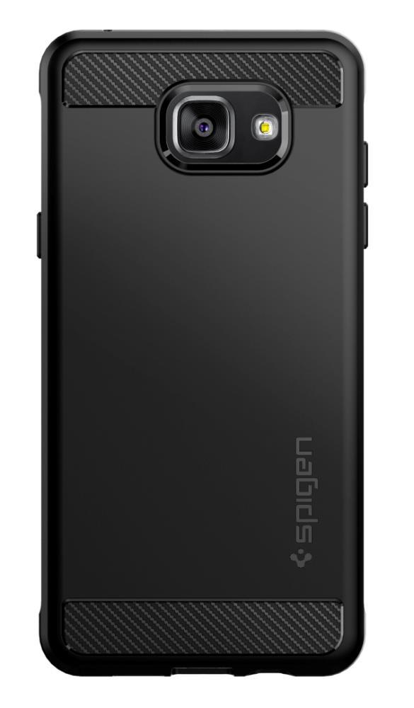 size 40 c105f 3aeef Samsung Galaxy A5 Case, Spigen Rugged Armor (Black)