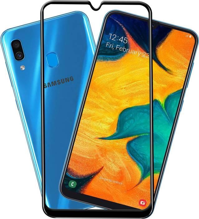 vasta selezione di f6d57 47a41 Samsung Galaxy A50 5D Full Glue Cover Tempered Glass Screen