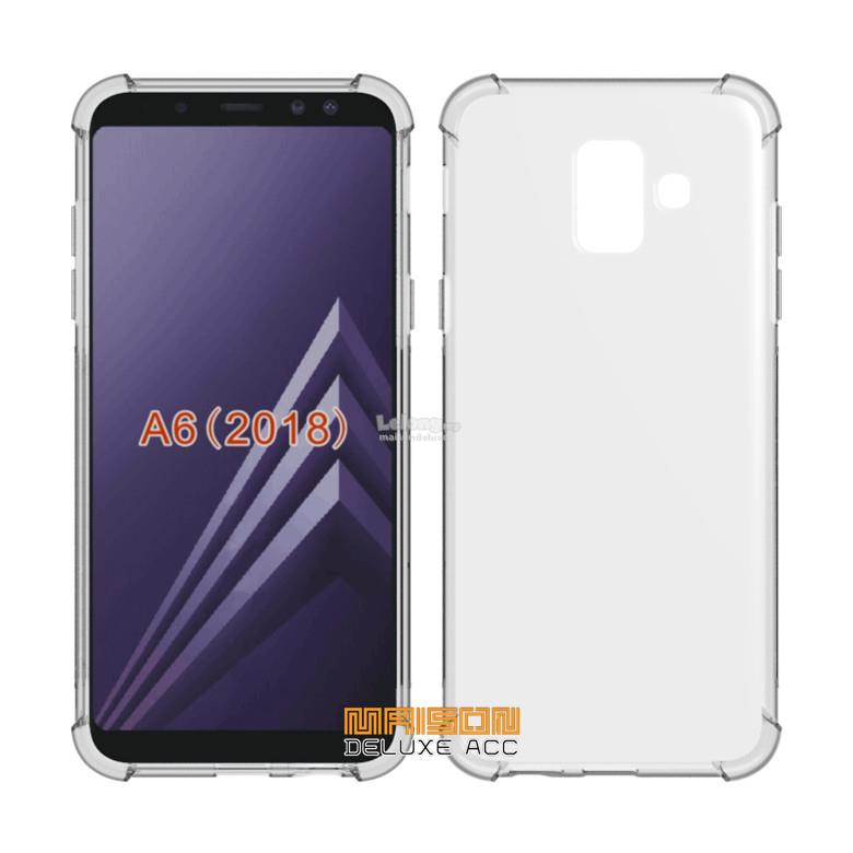 794c9b6a853 Samsung Galaxy A6 A6+ 2018 Plus Airbag Anti-shock TPU Silicone Case. ‹ ›