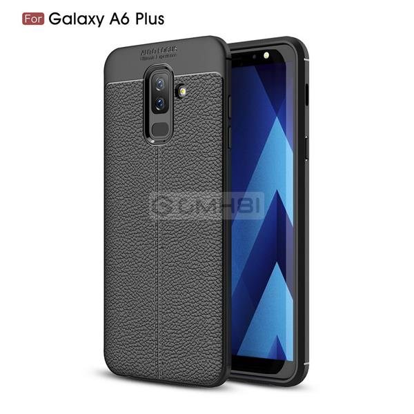 Samsung Galaxy A6 A6+ Plus 2018 LYCHEE Tough Armor Bumper Cover Case