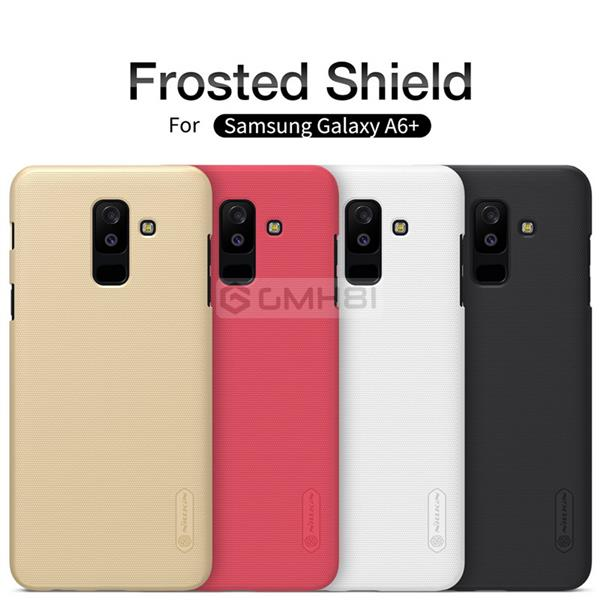 new style 4cc1a 26230 Samsung Galaxy A6 / A6+ Plus 2018 Nillkin Frosted Hard Back Cover Case