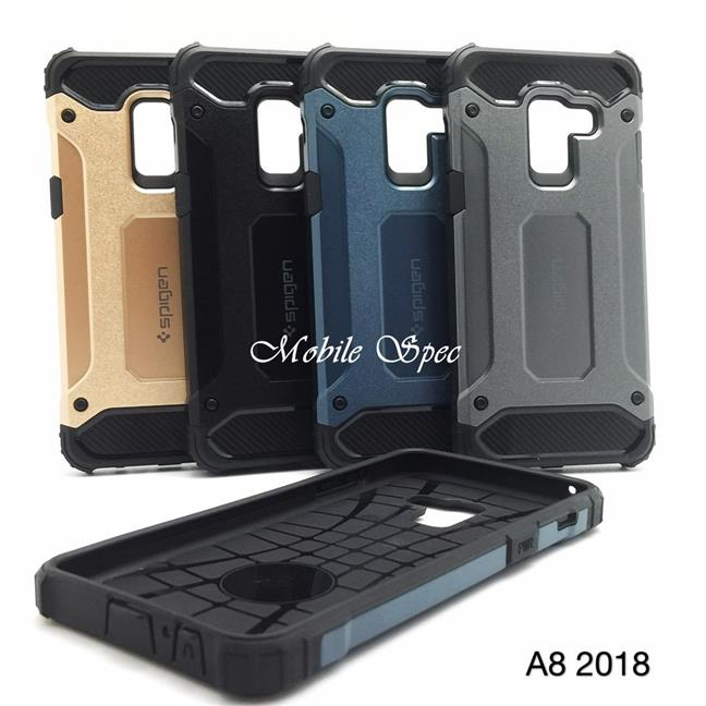 new style 3591e 7741b SAMSUNG GALAXY A6 A8 PLUS 2018 SPIGEN TOUGH ARMOR TECH CUSHION CASE