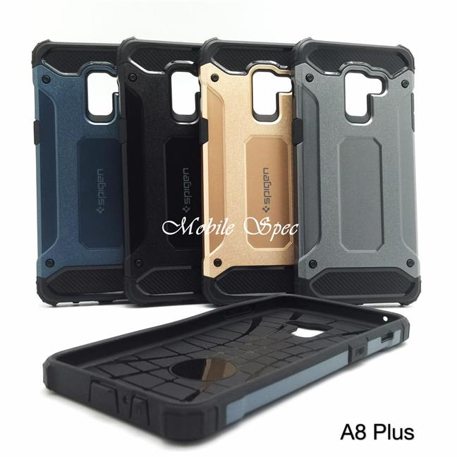 SAMSUNG GALAXY A6 A8 PLUS 2018 SPIGEN TOUGH ARMOR TECH CUSHION CASE