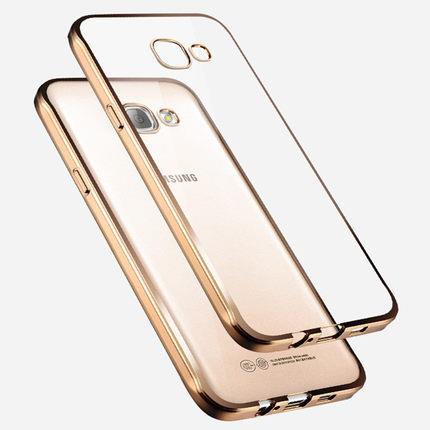 Samsung Galaxy A7 2016 transparent phone protection case casing cover
