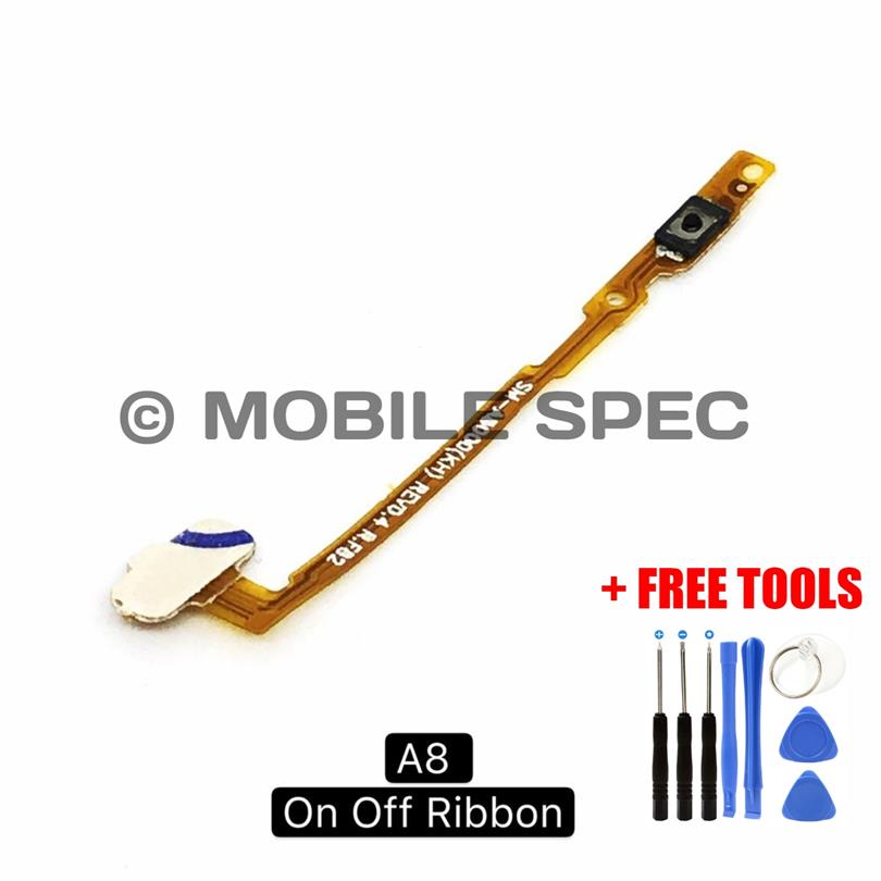SAMSUNG GALAXY A8 2016 A800 ON OFF POWER BUTTON FLEX CABLE RIBBON