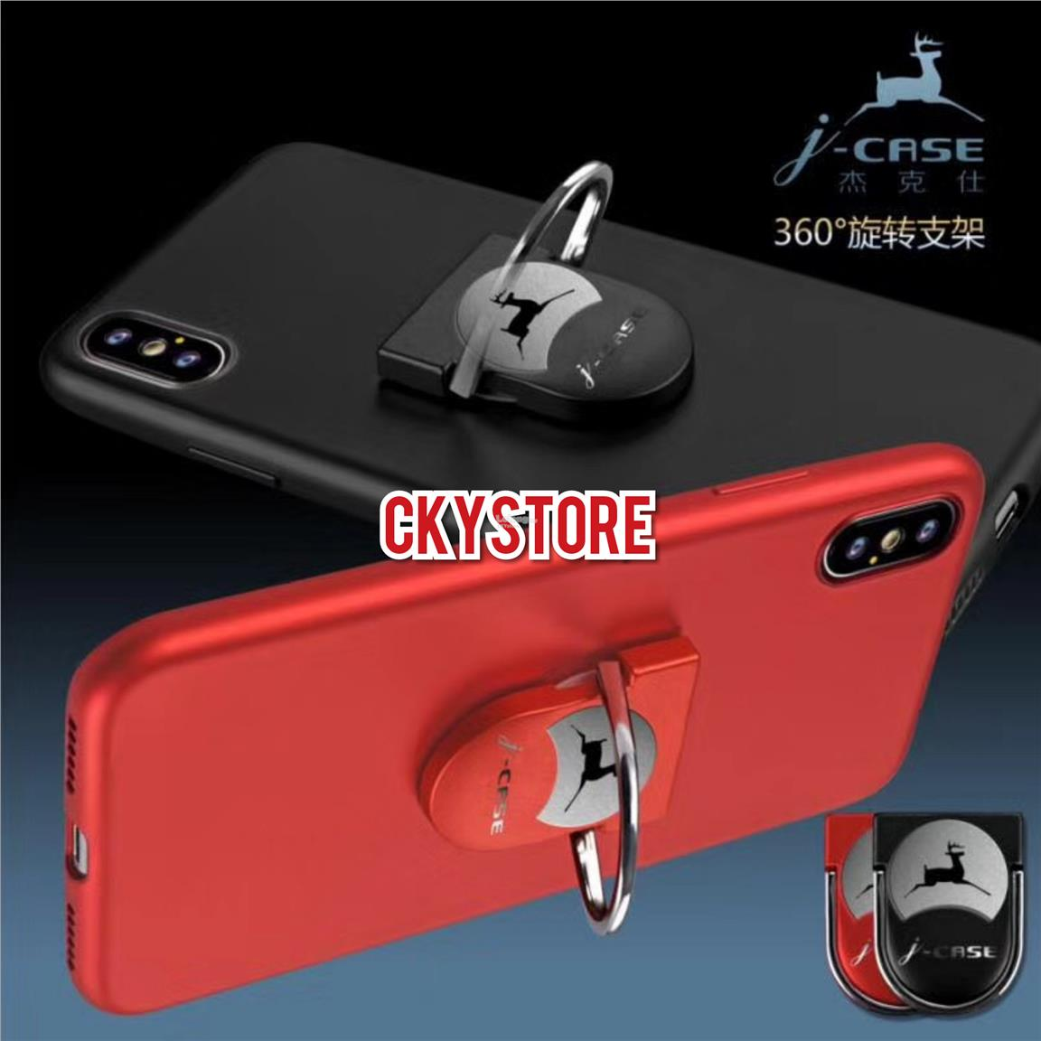 SAMSUNG Galaxy A8 2018 JCASE 360 Rotating Magnetic SLIM PC Case