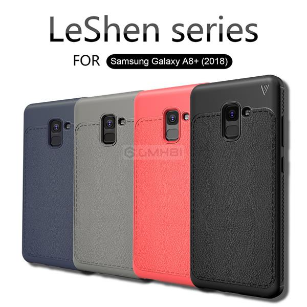 sports shoes cc918 fb809 Samsung Galaxy A8+ A8 Plus 2018 LENUO Tough Slim Bumper Cover Case