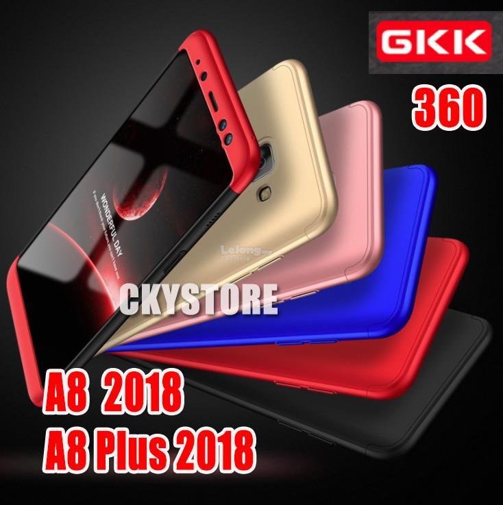 promo code f8018 03a68 Samsung Galaxy A8 / A8 Plus 2018 ORI GKK 360 FULL Protection SLIM Case