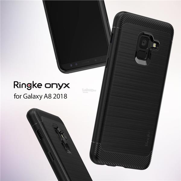 Samsung Galaxy A8 & A8 Plus (2018) - Ringke Onyx Case