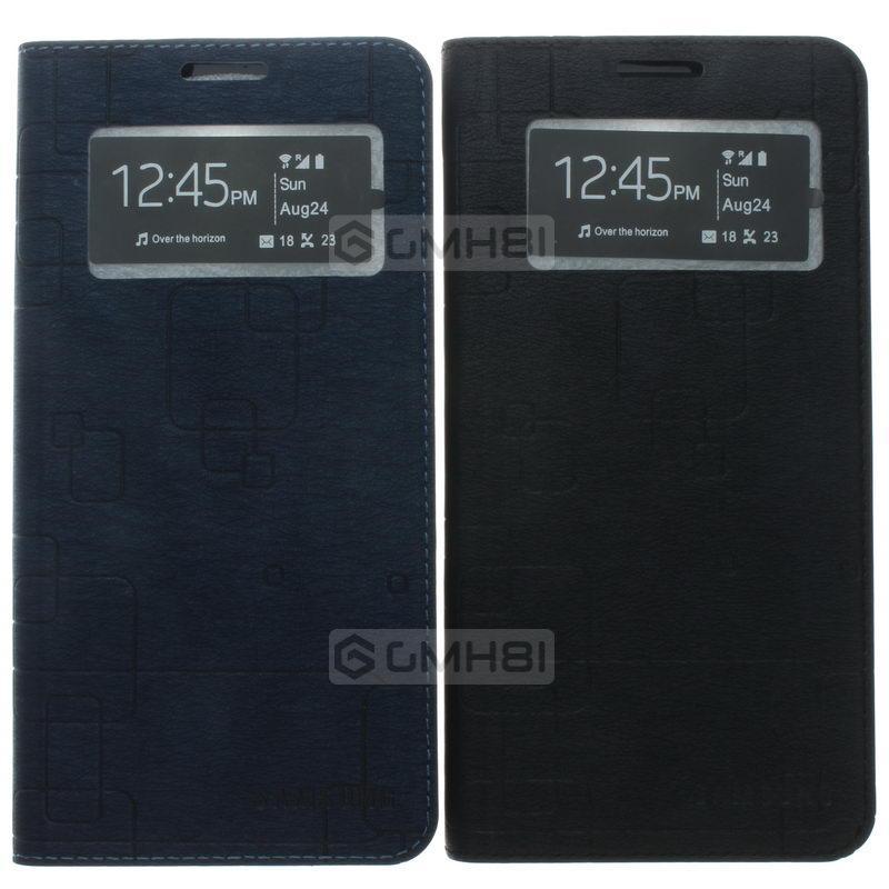 sports shoes 8e1ae 3bd5e Samsung Galaxy A8 A800 Window Wallet Slim Flip Cover Case