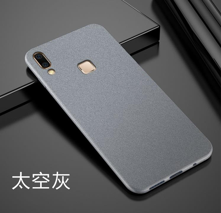 new product 345cb 523eb Samsung Galaxy A8 A9 Star Matt Soft Case Cover Casing Anti Fingerprint