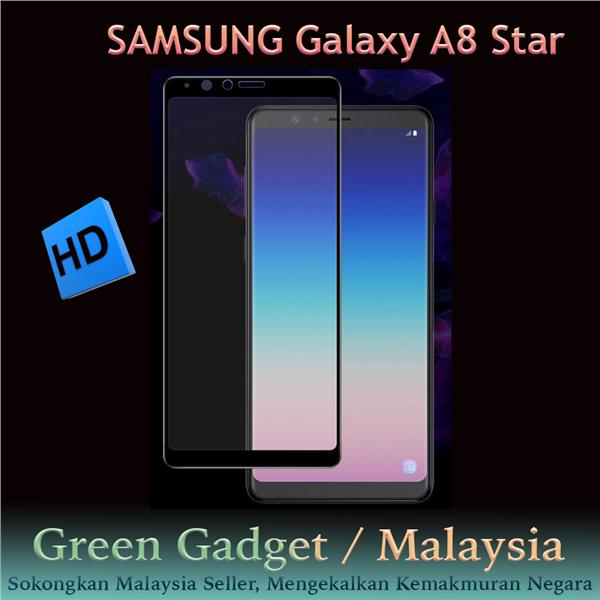 SAMSUNG Galaxy A8 Star Full Glue Screen Protector Tempered Glass