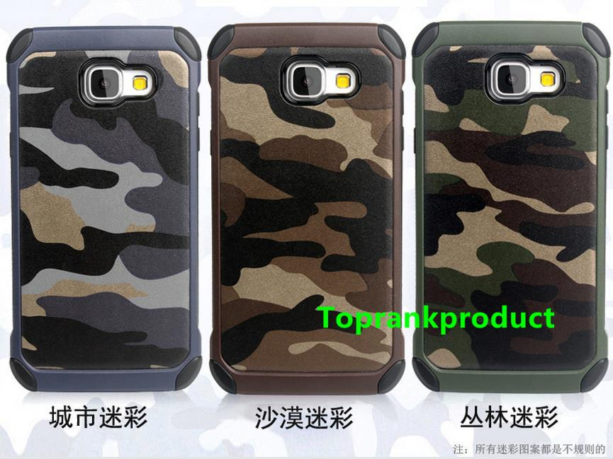 Samsung Galaxy A9 / Pro 2016 Camouflage Armor Case Cover Casing +Gift