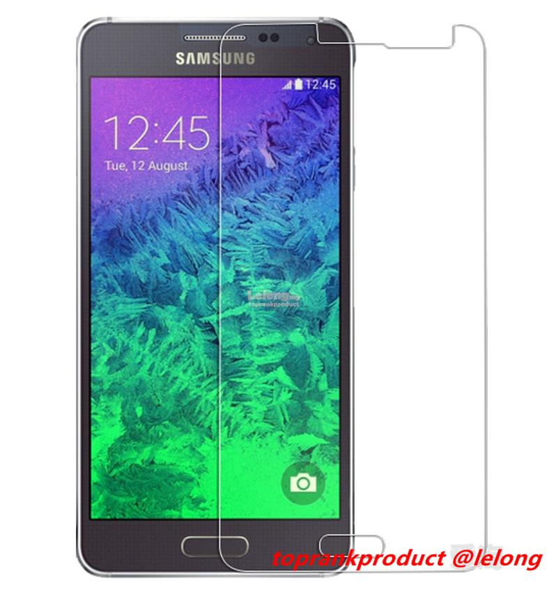 Samsung Galaxy Alpha SM-G850F 9H Tempered Glass Screen Protector