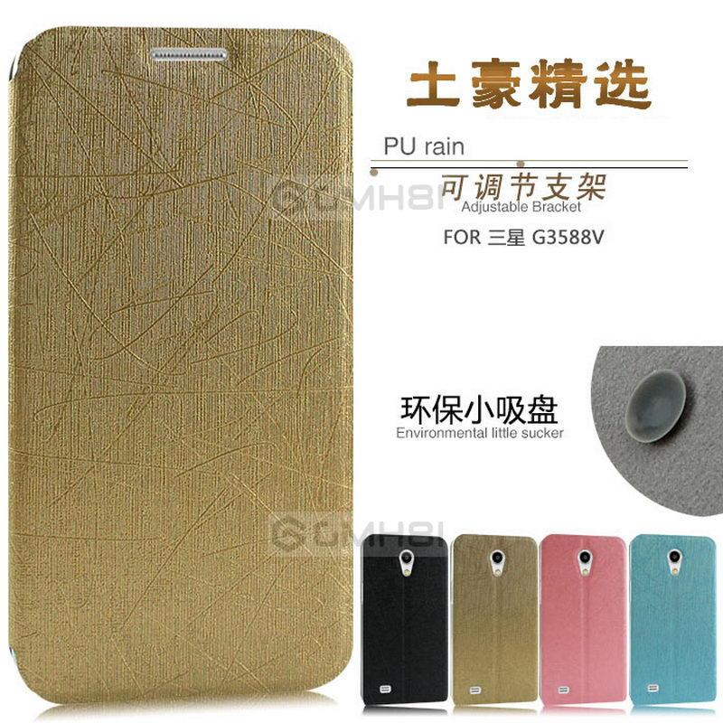 new arrival cb0af 2f264 Samsung Galaxy Core 2 G355h PUDINI Ultra Slim Leather Flip Cover Case