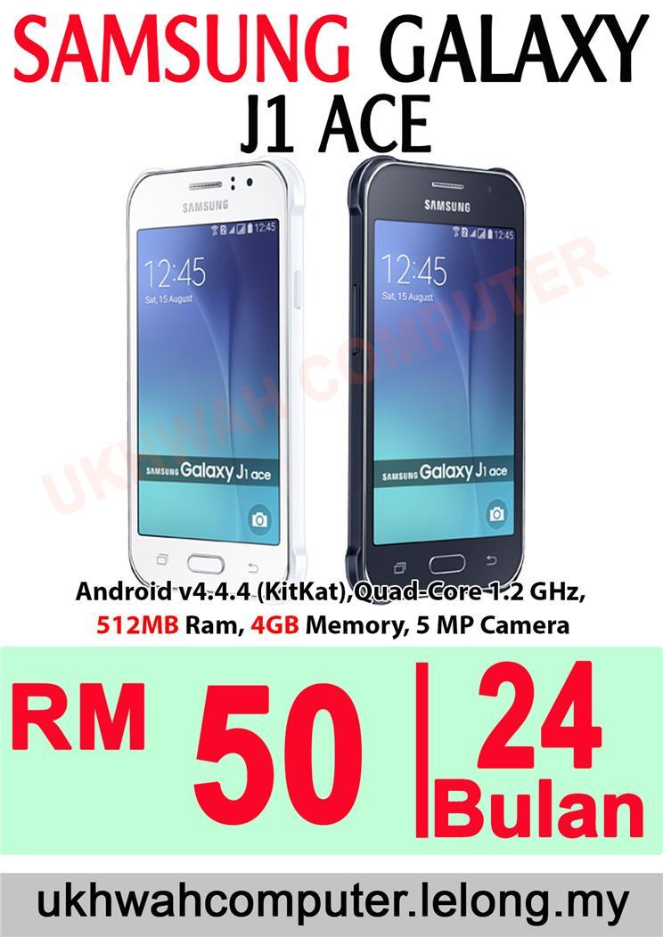 Samsung Galaxy J1 Ace Ori Harga Ansuran Instalment AEON 24 Bulan