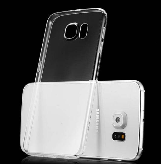 SAMSUNG GALAXY J1 MINI J2 J5 PRIME J7 PRIME Transparent Slim TPU CASE