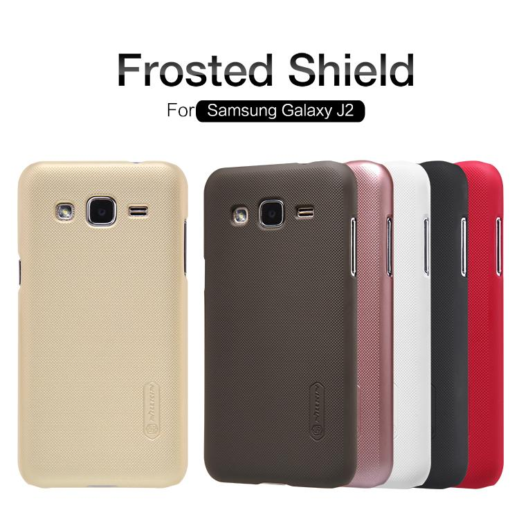 Samsung Galaxy J2 Nillkin Super Frosted Shield Cover Sand Case