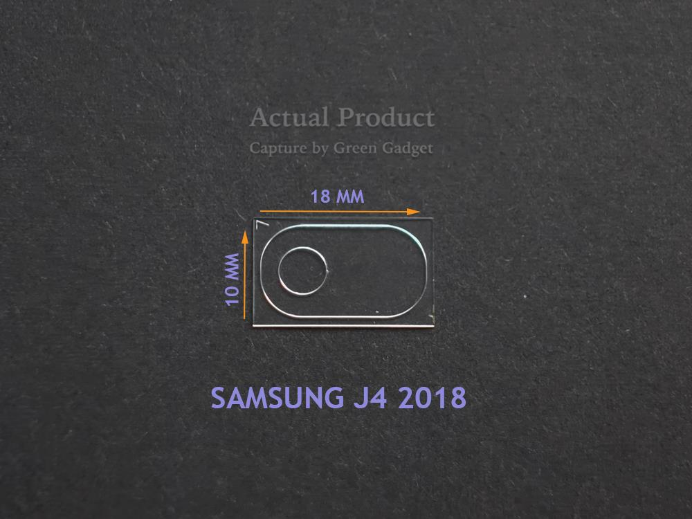SAMSUNG Galaxy J4 2018 Camera Protector Flexible Glass 2.5D