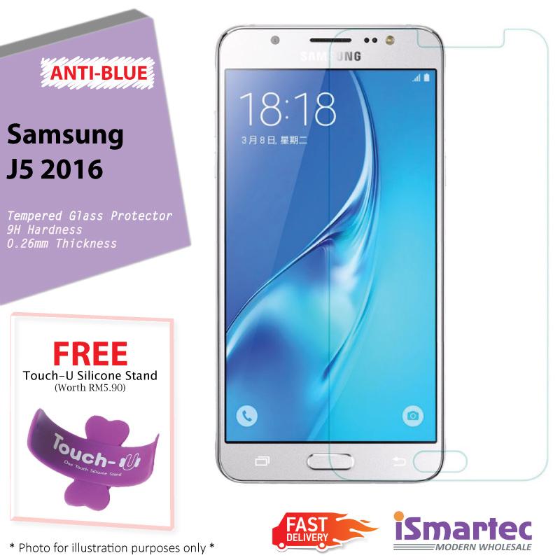Samsung Galaxy J5 (2016) J510F Anti-Blue Tempered Glass Protector 0.26.