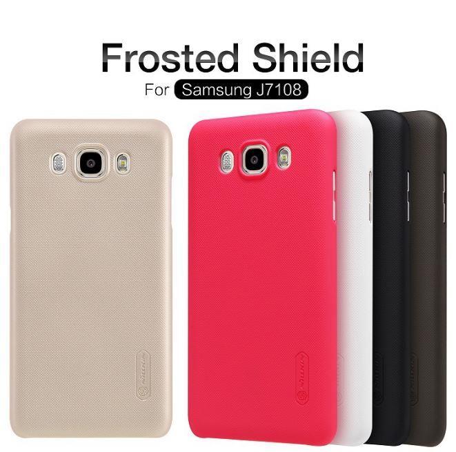 the best attitude d7bb8 61ff1 SAMSUNG Galaxy J5 J510 J7 J710 Nillkin Frosted Case Screen Protector