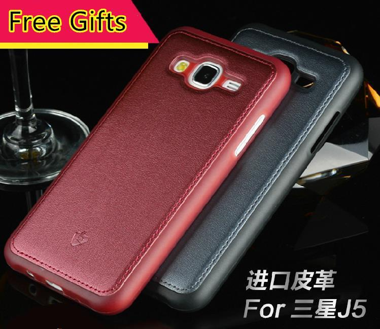 outlet store 55396 84b58 Samsung Galaxy J5 J7 A8 Leather Silicone Back Case Cover Casing +Gifts