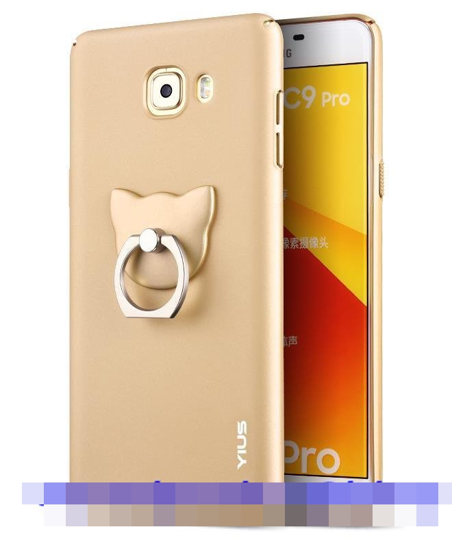 Samsung Galaxy J5 J7 Prime C9 Pro Hard Back Case Cover Casing + Ring