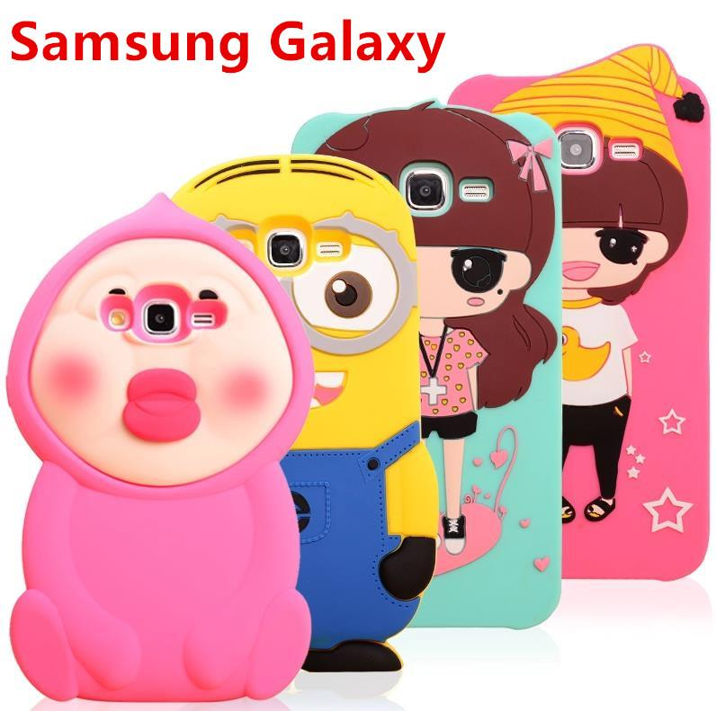 Samsung Galaxy J5 J7 Shakeproof Silicone Case Cover Casing + Free Gift