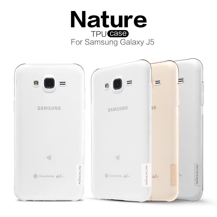 Samsung Galaxy J5 Nillkin Nature Series TPU Silicone Cover Case