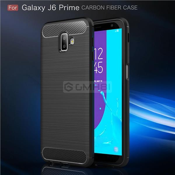 big sale f9b30 9b446 Samsung Galaxy J6+ Plus 2018 Brushed Tough Slim Armor Soft Cover Case